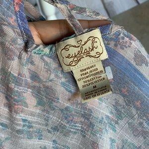 eyelash couture Tops - Eyelash Couture Button Down Top
